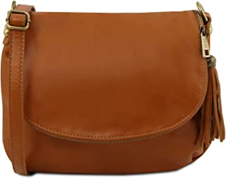 Tuscany Leather TLBag Borsa morbida a tracolla con nappa