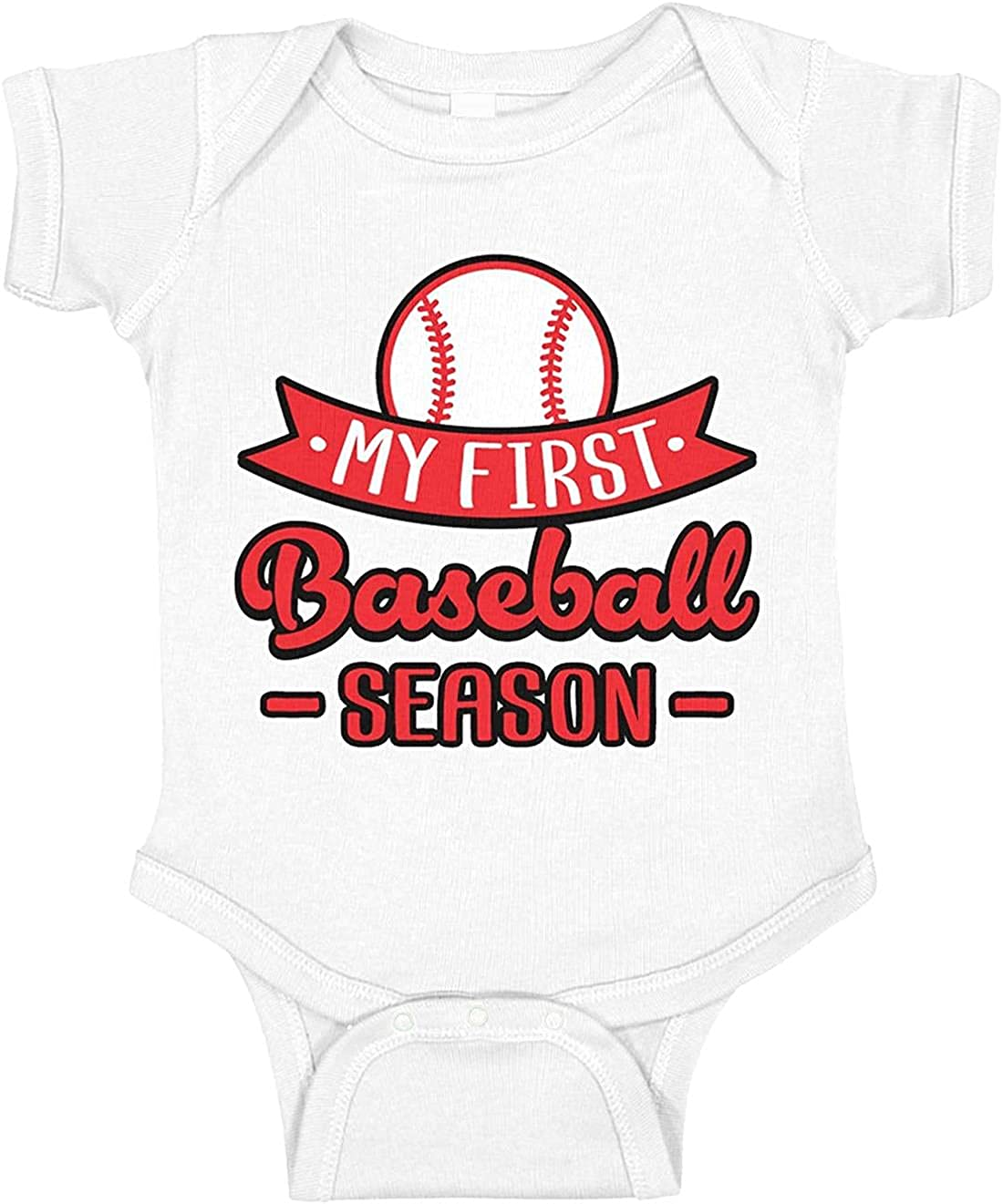 My First Baseball Season Summer Onesies Infant Girl Baby Printed Factory Our shop most popular outlet