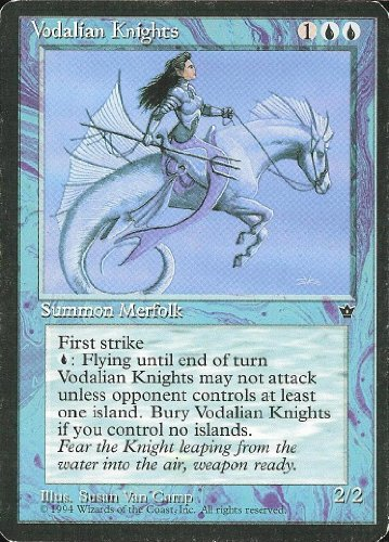 Magic: the Gathering - Vodalian Knights - Fallen Empires by Wizards of the Coast