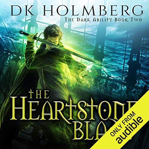 The Heartstone Blade audiobook cover art