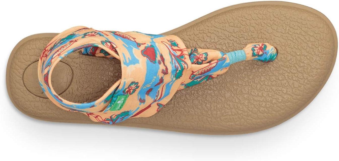 Sanuk Womens Yoga Sling 2 Prints Sandal
