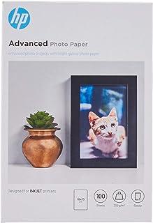 HP Advanced Q8692A – Papel fotográfico (100 hojas, 10X15 cm), el Embalaje puede Variar