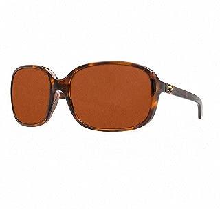 COSTA DEL MAR Permit POLARIZED Sunglasses Black//Copper 580P NEW $169