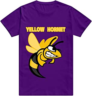 CUAUNED Hornet Large T-shirt For Men Funny 100% Cotton T Shirts