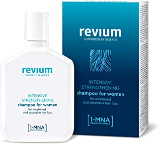 REVIUM INTENSIVE ANTI-HAIR LOSS SHAMPOO FOR WOMEN WITH 1-MNA MOLECULE  FOR WEAK EXCESSIVELY FALLING OUT HAIR 200 ml
