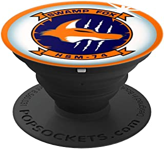 Navy Helicopter Maritime Strike Squadron 74 HSM-74 Patch PopSockets Grip and Stand for Phones and Tablets