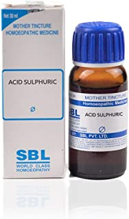 SBL Homeopathy Acid Sulphuricum Mother Tincture Q (30 ML) by Qualityexport