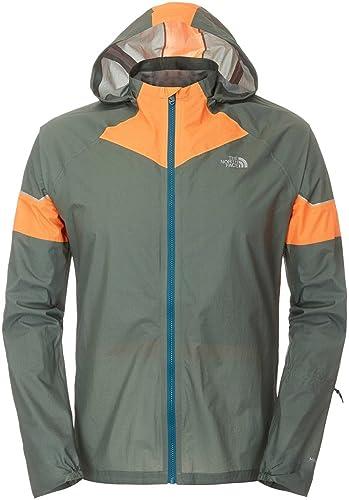 THE NORTH FACE - Veste Homme - Storm Stow Jacket M Vert Orange