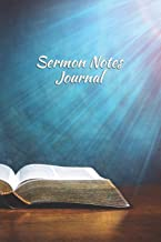 Sermon Notes Journal: Record and Reflect on a Year's Worth of Sermons