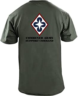 Army Combined Arms Support Command Full Color Veteran T-Shirt