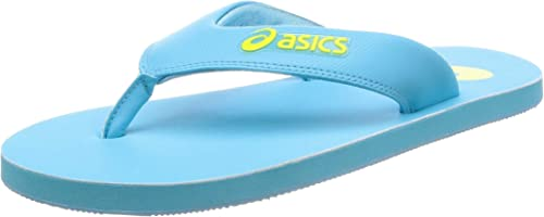 ASICS Unisex Flipflops (8 M UK, Aquarium/NEON Lime) : Amazon.fr ...