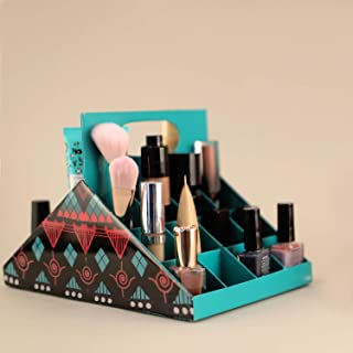 Rangvarukh Turquoise Two Faced Organiser