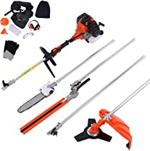 Iglobalbuy 52cc 5 in 1 Multifunction Grass Cutter Trimmer Brush Cutter Hedge Trimmer..