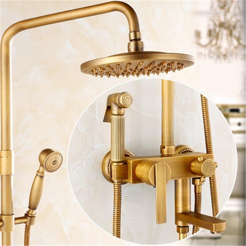 MIAORUI alle kupfer antik - dusche anzug schwarzen bronze drei blocks dusche dusche duschen duschen,vier platz sieben wort