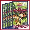SAHAWA® Rote Mückenlarven Frostfutter 5X 100g Blister + 1 Blister Daphnien gratis