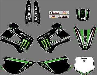 DST0058 Custom Decal Kit Motorcross Graphics Sticker for STICKERS Kits for KAWASAKI KX85-100 1998-2013