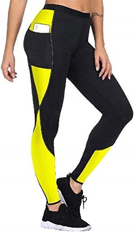 Sweatpants For Slimming Womens Neoprene Loss Black Store Weight Popular Pants