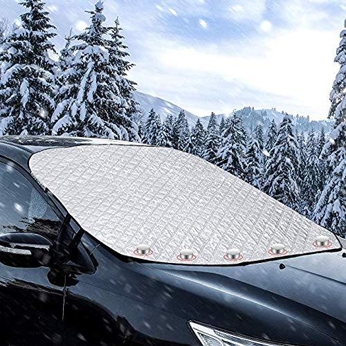 MaMartha Car Windshield Snow Cover Copertura Parabrezza Parasole Parasole per Auto Ippopotamo Adatto a Tutte Le Auto e Stagioni