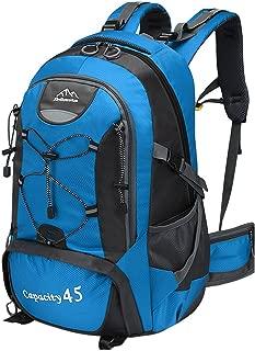 Daypacks Backpack Men's Backpack Bag Large Capacity Multi-Function Backpack Light Weight Popular Commuter School Commuting Business Trip Best Travel Backpacks (Color : Blue)