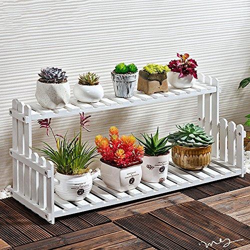 Rekken, Opslag Plank Hout Bloemenrekken Woonkamer Balkon Vloer Multi-verdiepingen Bloemenpotten Eenvoudige Indoor Groene Planten Planken GLF