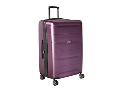 Delsey Comete 2.0 28 Expandable Spinner Upright (Plum) Luggage