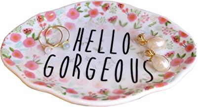 PUDDING CABIN Ring Dish Holder Decorative Trinket Tray - Hello Gorgeous