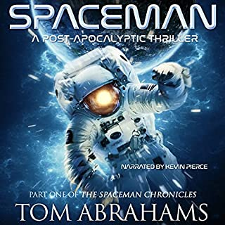 SpaceMan audiobook cover art