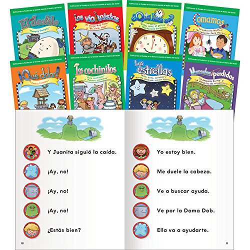 Compare Textbook Prices for Teacher Created Materials - Reader's Theater: Nursery Rhymes Spanish - 8 Book Set - Grades Prek-K - Guided Reading Level A 1 Edition ISBN 9781433351655 by Teacher Created Materials