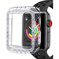 GHIJKL Case Compatible Apple Watch 3 2 38mm, Bumper Accessories Ultra Slim Protector Cover Apple...