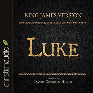 Holy Bible in Audio - King James Version: Luke audiobook cover art
