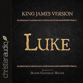 Holy Bible in Audio - King James Version: Luke cover art
