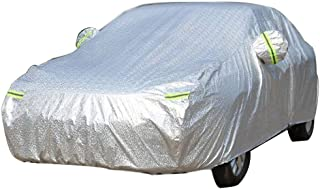 Looking back is the shore Car Protective Cover Waterproof, Breathable, Anti-UV, All-Weather Protection, Indoor and Outdoor car Suitable for Cars Car Cover Full Garage Waterproof Sunscreen