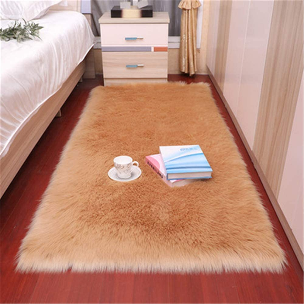 Long Hair Faux Fur Sheepskin Rug Cover Chair Seat Pad Free Recommended shipping on posting reviews Sofa