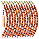 Materiale ad alta resistenza. Ecoshirt 54-RLYL-H00L Adesivi Stickers cerchione Rim Mavic Crossmax SL Pro 27,5\