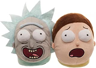 3D Scuff Slippers Rick and Morty Besties