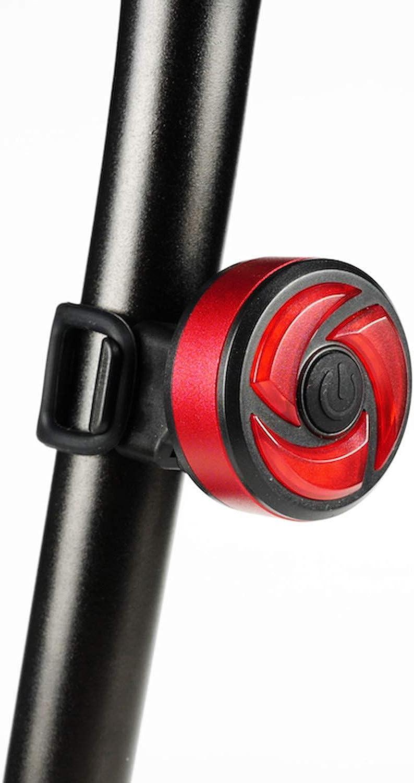Intelligent Induction Mountain Bike Brake Tail Light, USB Charging Waterproof Road Night Riding Warning Light