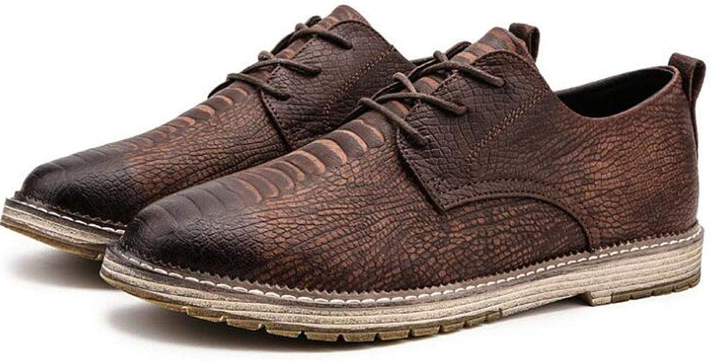 GAOLIXIA Autumn New Men's Casual shoes shoes (Black, Dark Brown, Light Brown)