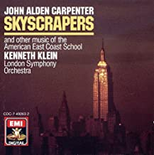 Carpenter: Skyscrapers and Other Music of the American East Coast School