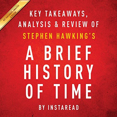 A Brief History of Time, by Stephen Hawking audiobook cover art