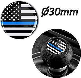 1 x 3D Sticker for Shift Lever Gear Knob JDM S 66