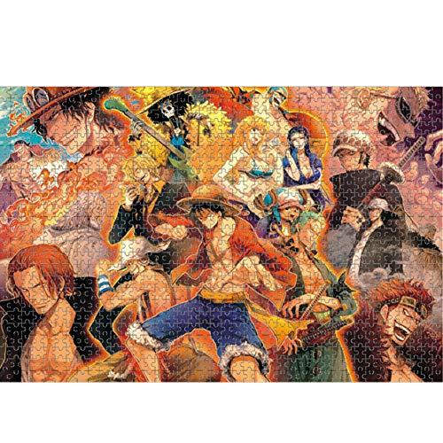Puzzels 1000 stukjes Puzzels Strohoed Piraat Groep mensen Puzzels voor volwassenen Houten puzzelspellen Puzzels voor kinderen