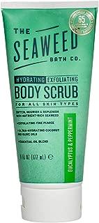 The Seaweed Bath Hydrating Exfoliating Body Scrub, Eucalyptus & Peppermint, 6 Ounce