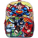 Justice League 16' Backpack Large Batman Superman Green Lantern