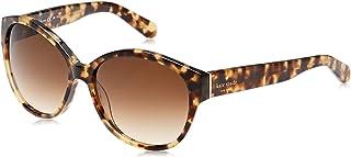 Kate Spade Women's Kiersten/S 3Y7 Havnhoney S 56 Lens Y6 BROWN SF Sunglasses