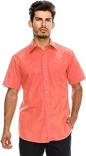 Best mens coral dress shirt Reviews