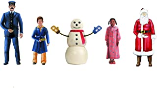 Lionel The Polar Express, Electric O Gauge Model Train Accessories, Snowman & Children People Pack
