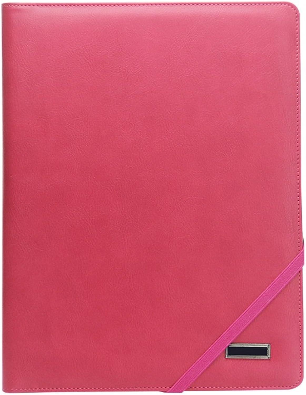A4 Besprechungsordner Besprechungsordner Besprechungsordner Business Leather Folder (Farbe   6) B07DW5SSZ3   Gewinnen Sie das Lob der Kunden  5a1d4f