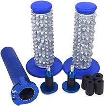 JFG RACING Blue CNC Aluminum Billet Twister Throttle Tube Handlebar Grips Bar Cap End Plugs For Yamaha YZ250F YZ400F YZ450F WR250F WR400F WR450F SEROW225 250 TRICKER XT250X WR250R WR250X