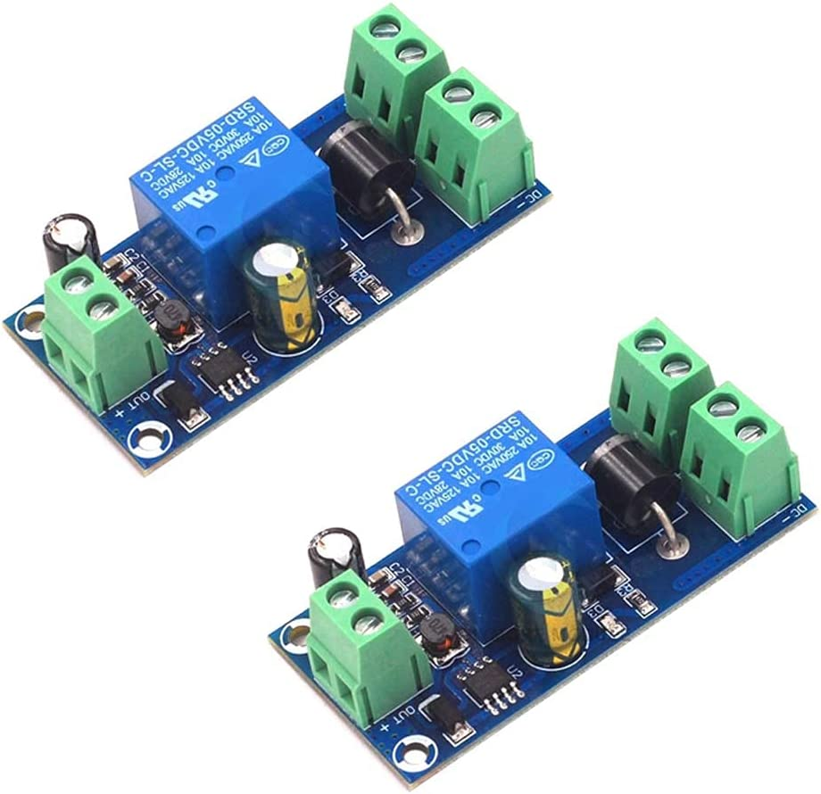 Rakstore 2Pcs UPS Board Power-Off Protection Module Automatic Switching UPS Emergency Cut-Off Battery Power Supply 5V to 48V Control Board