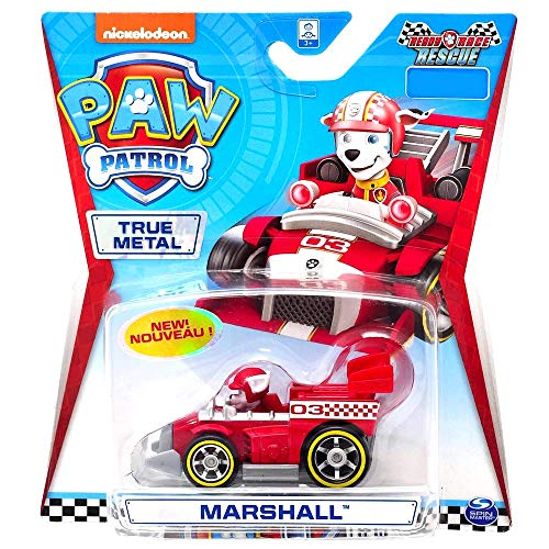 Spin Master Paw Patrol Ready Race Rescue echtes Metall, Marshall